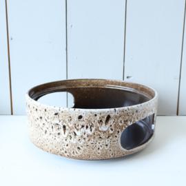 Vintage grote schaal warmhoudbak pot