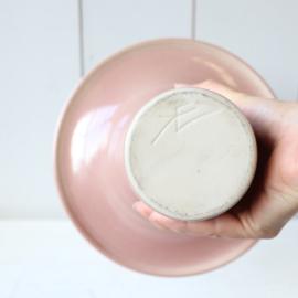 Vintage vaas roze groot