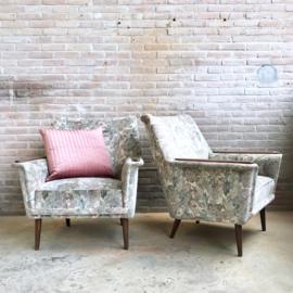 set vintage fauteuil