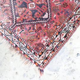 Vintage perzisch tapijt  125 x 88