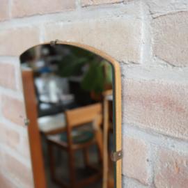Vintage spiegel zonder lijst