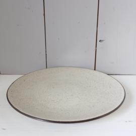Vintage groot bord zaalberg