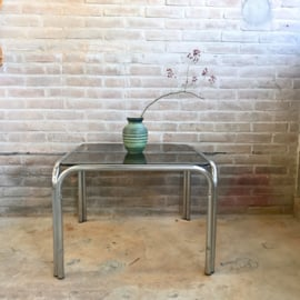 vintage salontafel rookglas