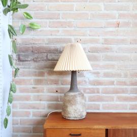 Vintage lampenvoet deens keramiek
