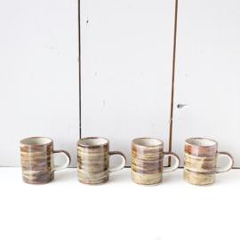 Vintage espresso kopjes jaren 70