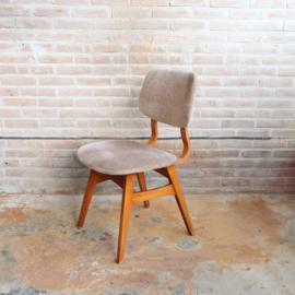 Vintage stoel velvet