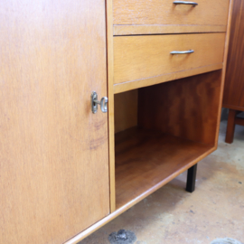 Vintage klein dressoir lades