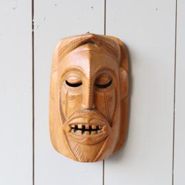 vintage Afrikaans masker hout