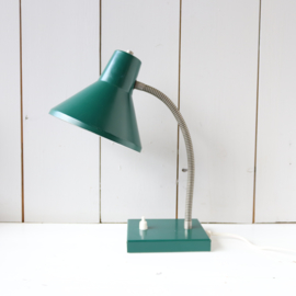 Vintage bureaulamp groen