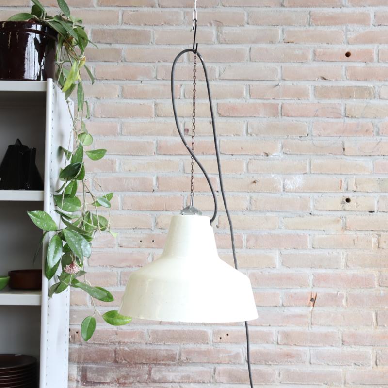 Vintage industrieel lamp