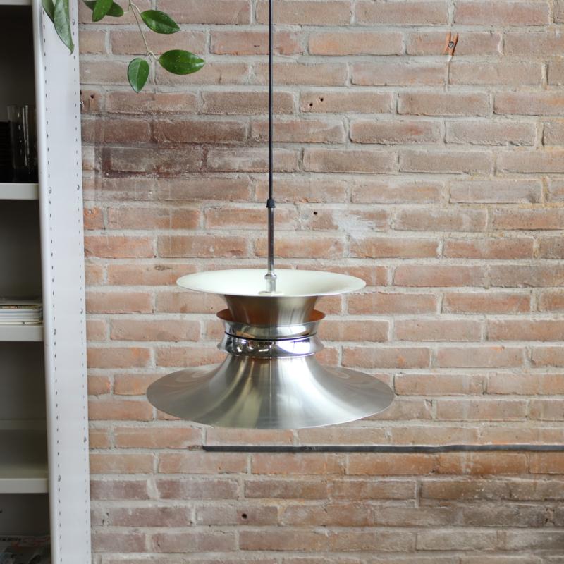 Vintage metalen lamp deens