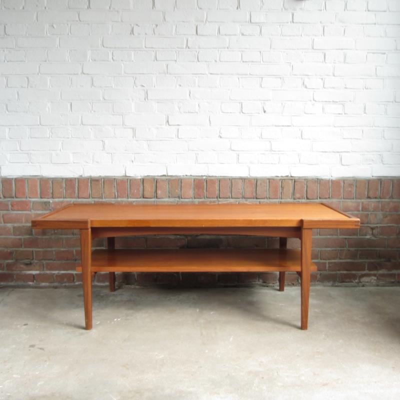 Vintage Salon Tafel.Vintage Salon Tafel Teak Tafels Meutt Vintage Interior