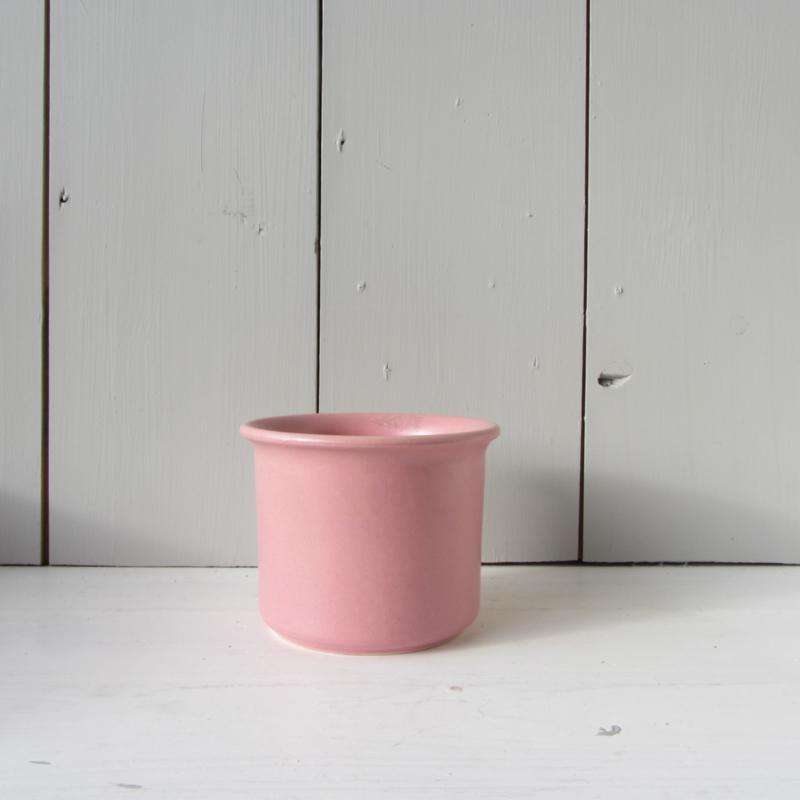 vintage bloempot roze