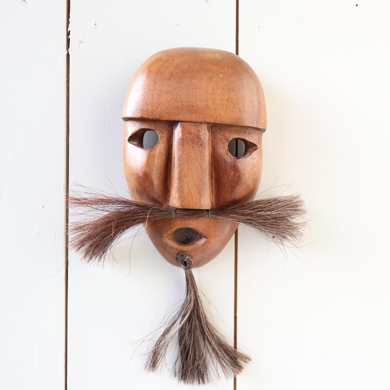 Vintage masker hout