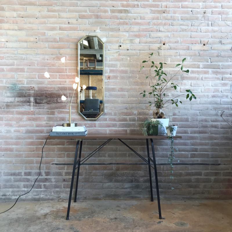 vintage side table / klaptafel