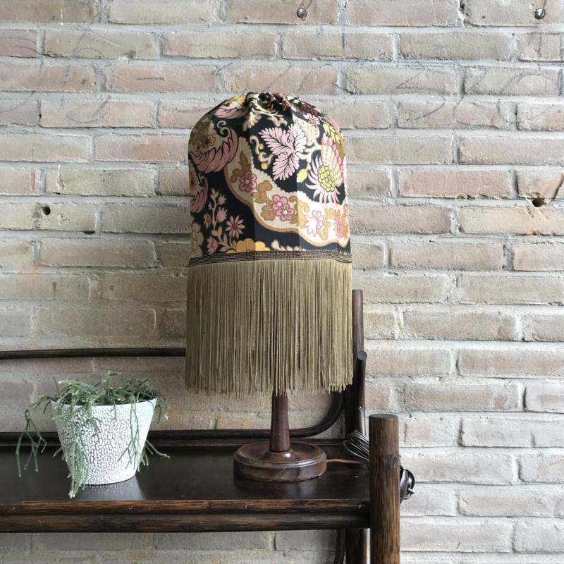 Vintage lamp franjes