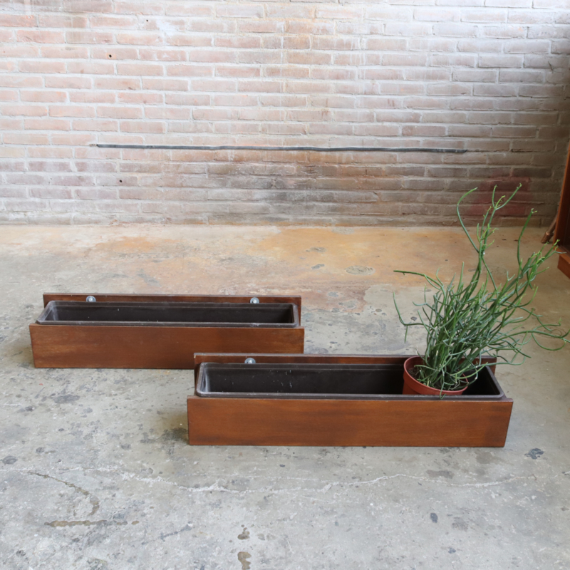 Vintage Plantenbak Balkon Schutting Potten Vazen