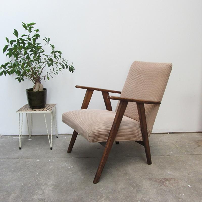 Super Vintage jaren 60 fauteuil | verkocht | Meutt vintage & interior NU-91
