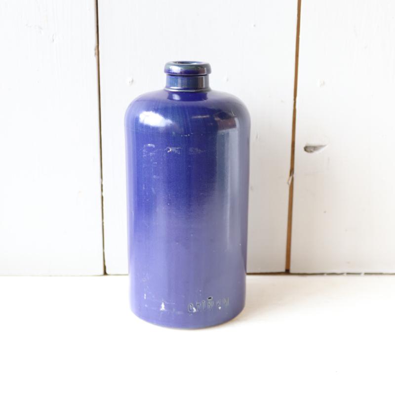 Vintage vaasje kobalt blauw
