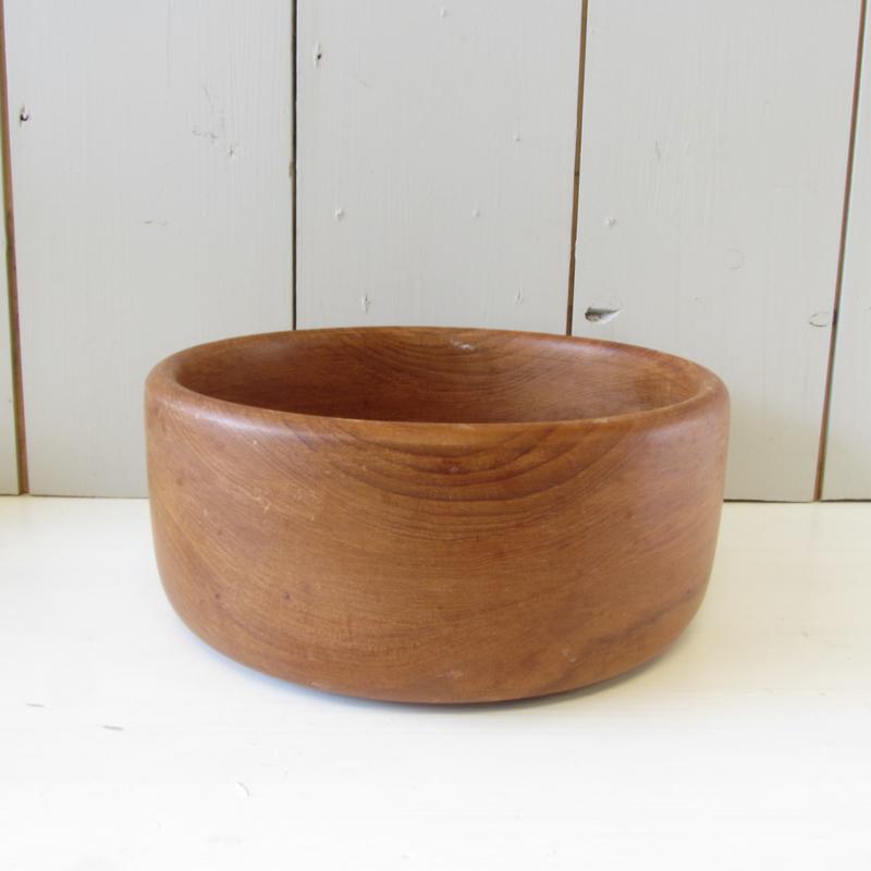 Vintage teak houten schaal