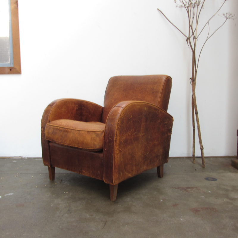 Fauteuil Leer Vintage.Vintage Fauteuil Leer Verkocht Meutt Vintage Interior