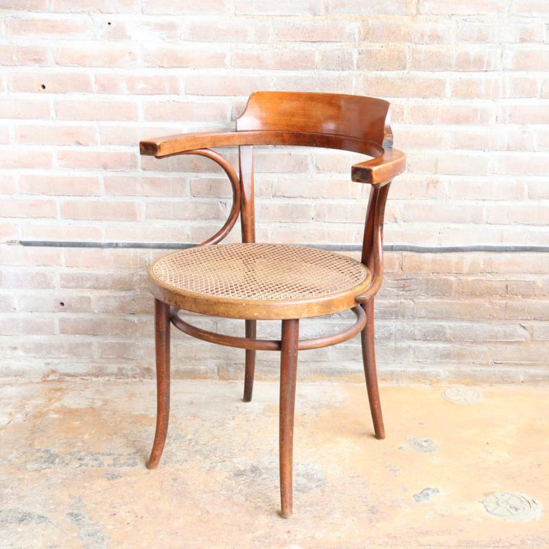 Vintage thonet stoel by ligna 233