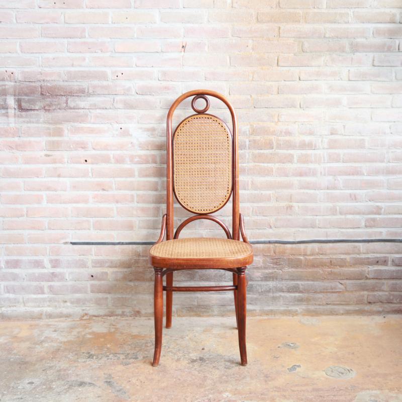Vintage thonet stoel webbing