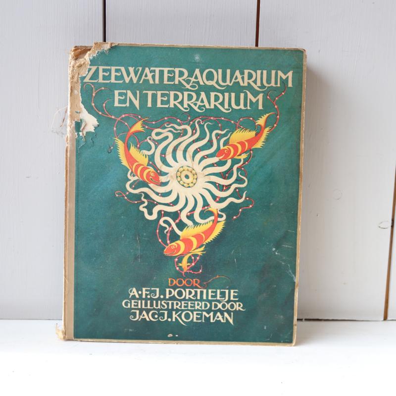 Prentenboek zeewater aquarium en terrarium