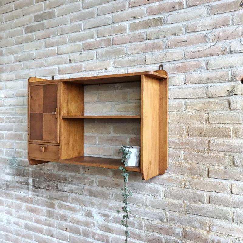 Verwonderlijk Vintage wandkast hout | kasten | Meutt vintage & interior MH-55