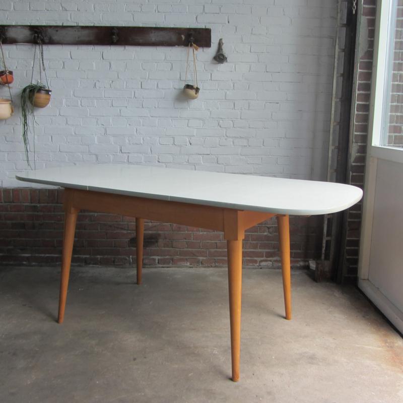 Formica Tafel Uitschuifbaar.Vintage Eettafel Formica Tafels Meutt Vintage Interior