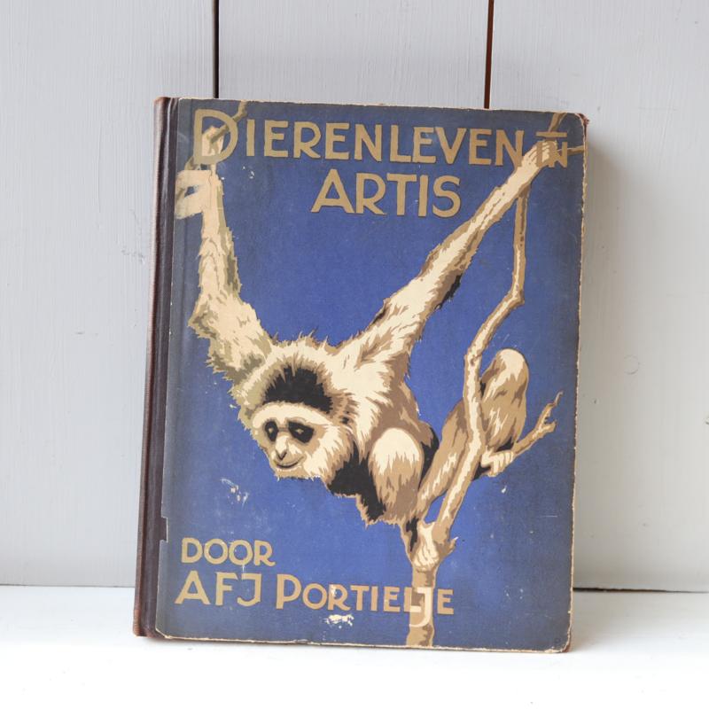 Prentenboek dierenleven artis