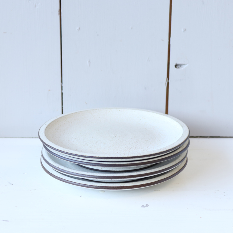Vintage jaren 70 servies ontbijt borden zaalberg