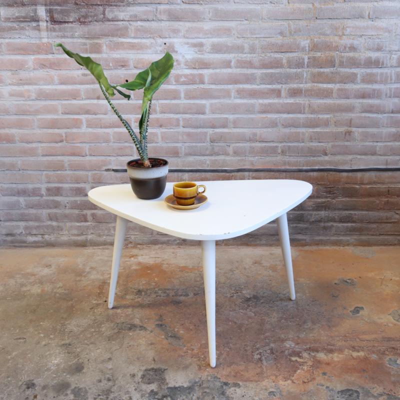 Vintage driehoek salontafel