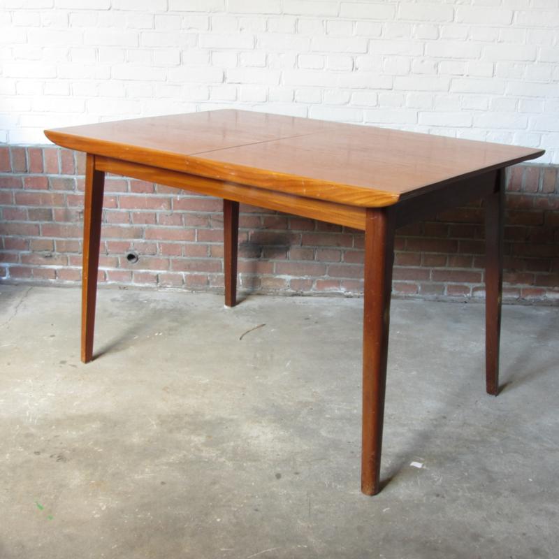 Eettafel Klein Uitschuifbaar.Vintage Eettafel Uitschuifbaar Tafels Meutt Vintage
