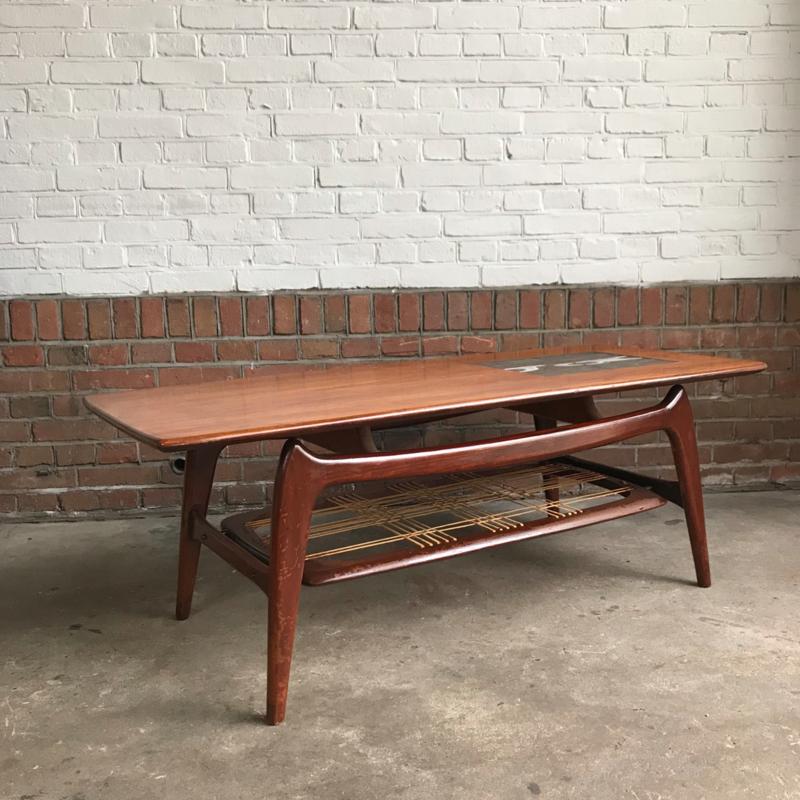 Vintage Salon Tafel.Vintage Salon Tafel Louis Van Teeffelen Nieuw Binnen