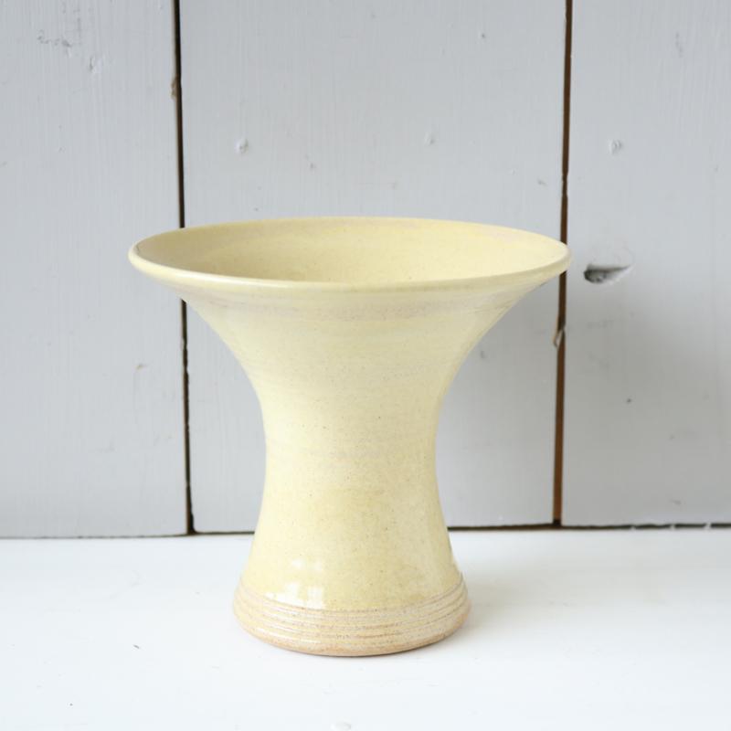Vintage vaas geel