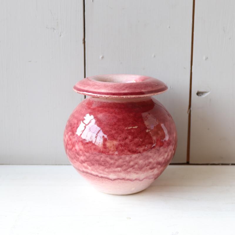 Vintage vaasje roze