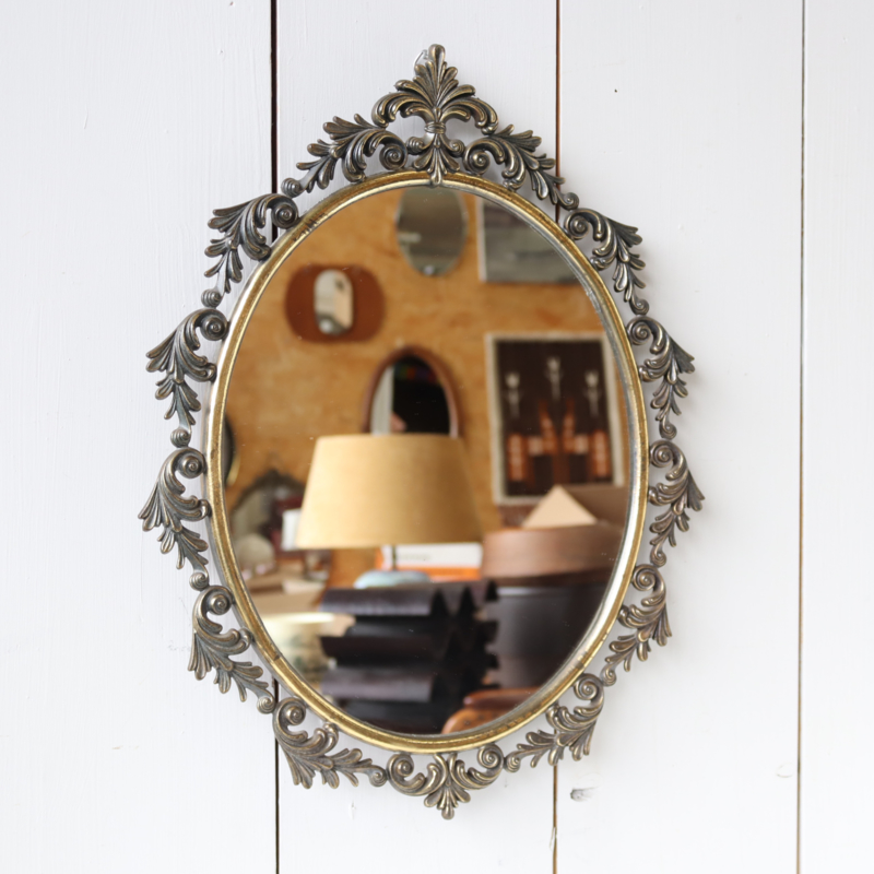 Messing spiegel barok