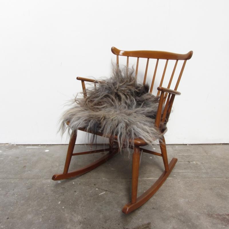 Ongekend Vintage spijlen schommelstoel | verkocht | Meutt vintage JN-46