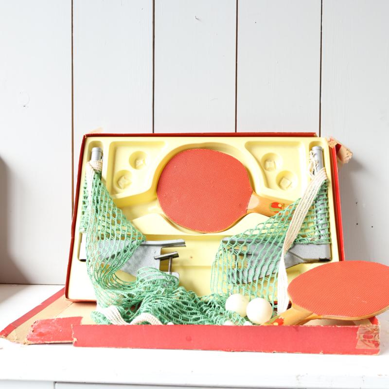vintage tennistafel spel