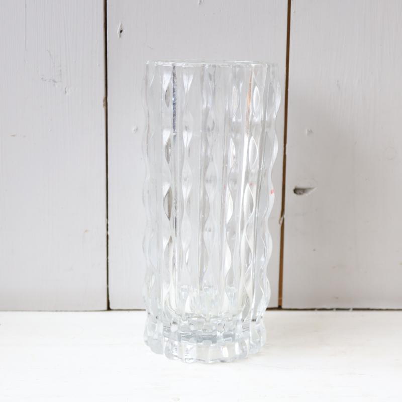 Vintage vaas glas Italy