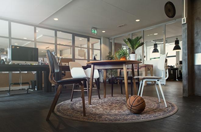 interieuradvies kantoor Amsterdam vintage