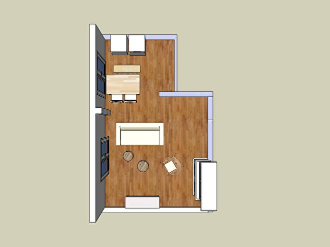 interieur styling licht appartement vintage Scandinavisch