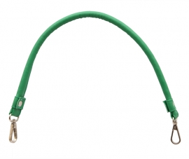 KnitPro tasbeugel kunstleder (doghooks) met D-ringen GROEN