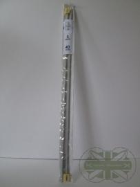 Breinaalden 40 cm, 5 mm
