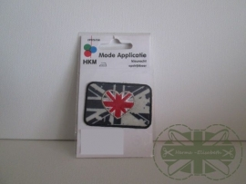 Opstrijk badge Union Jack