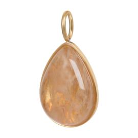 ixxxi Charm Royal Stone Drop Topaz