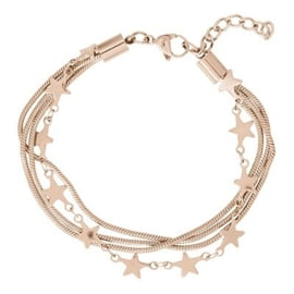 ixxxi armband snake and star rose