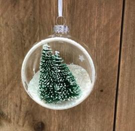 christmas ball & tree green