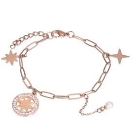 ixxxi armband sparkle rose